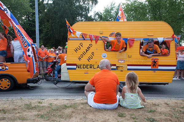 Oranje is door!