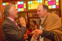 Gespot op de slotavond van Kanaalconcerten 2012: oud-burgemeester Fred de Graaf en zijn opvolger John Berends gm[[52.212734606853935, 5.975586175918579]]